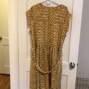 eshakti Dresses - Eshakti sleeveless dress with geometric pattern